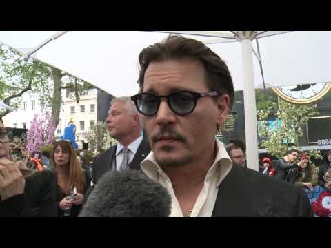 Johnny Depp talks about Alan Rickman