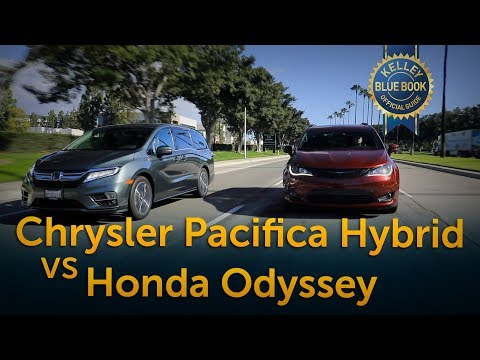 Chrysler Pacifica Hybrid v Honda Odyssey Comparison