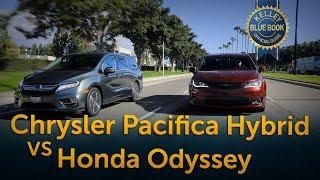 Chrysler Pacifica Hybrid v Honda Odyssey Comparison