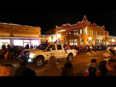 Ennis Texas Parade of Lights