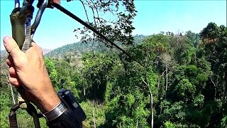 Flight of the Gibbon Zip-line Adventure HD video