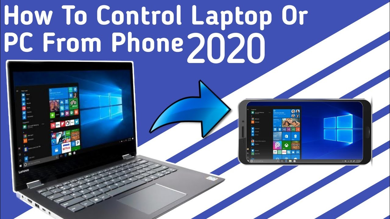 Download How To Control Laptop Or PC From Phone (Easy Steps) #RemoteControl#2020Trick
