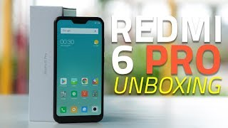 Xiaomi Redmi 6 Pro Unboxing and First Look