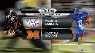Waterford at Montville football
