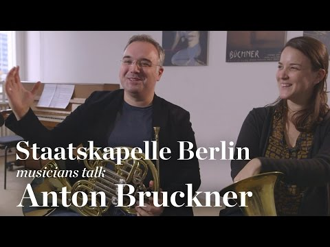 Staatskapelle Berlin Musicians Discussing Bruckner and Baren