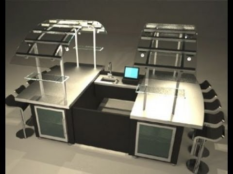 Custom Coffee Cart and Coffee Kiosk Design Ideas and