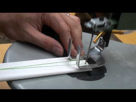 Seminole Inspired PVC Flat Bow Part 1 - Shaping the Bow