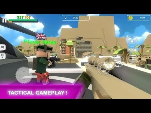 Block Gun: Gun Shooting - Online FPS War Android Gameplay HD (By Haz LTD)