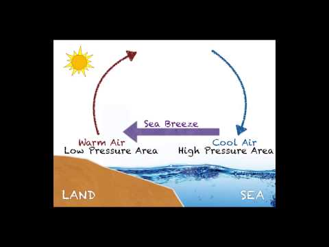 Sea vs Land Breeze