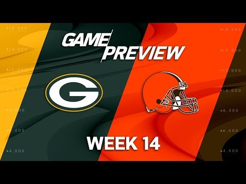 Green Bay Packers vs. Cleveland Browns | NFL Week 14 Game Preview | NFL Playbook