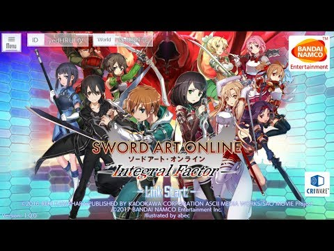 Sword Art Online: Integral Factor - Late Stream Rerolling - Road to Ultimate Combo