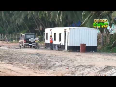 Vizhinjam Port construction progress