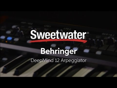 Behringer DeepMind 12 Arpeggiator by Daniel Fisher Mp3