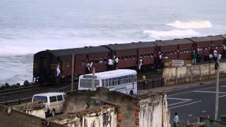 Kollupitiya train station, Colombo, Sri Lanka
