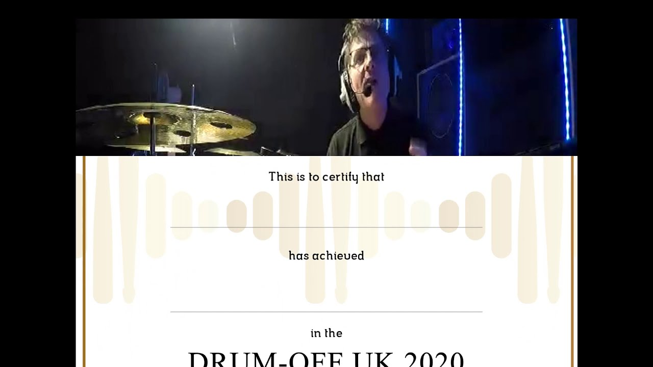 Drum-Off UK 2020 Results!