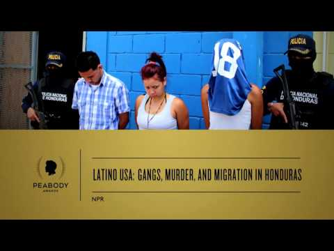 Maria Hinojosa - Latino USA: Gangs, Murder, and Migration in Honduras - 2014 Peabody Award
