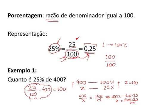 Cálculo de Porcentagem - Prof. André Brochi - YouTube