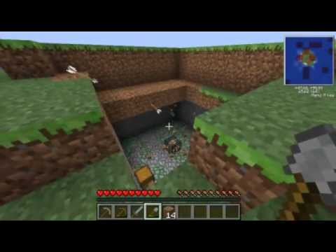 Minecraft-1.4.7 เกาะร้าง is land 1