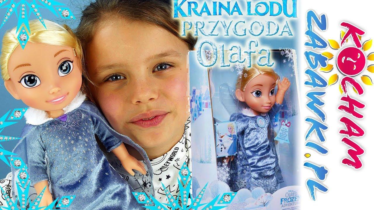 Kraina Lodu Przygoda Olafa • Śpiewająca Elsa • Interaktywne zabawki