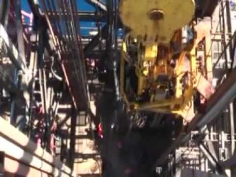 THE MIGHTY ENSCO 106 DRILL RIG