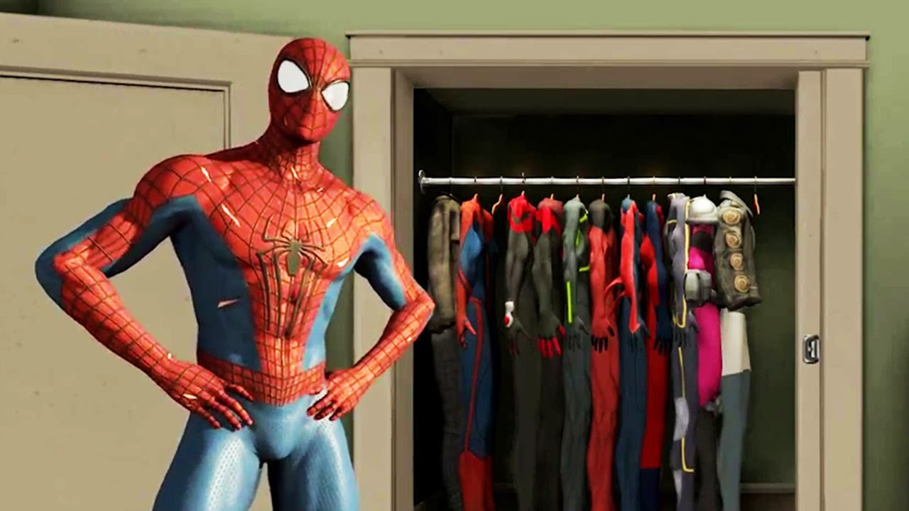 The Amazing Spider Man Game All Suits Ps3 (9)