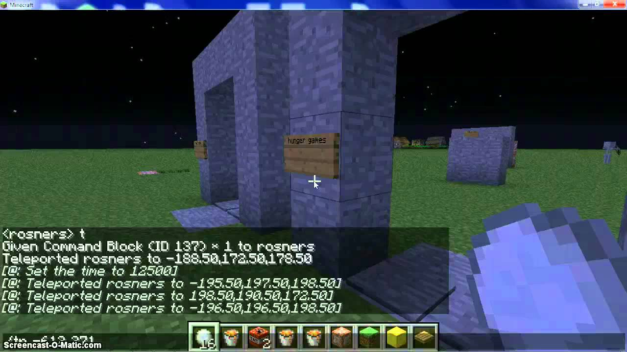 how to make your own portal in minecraft