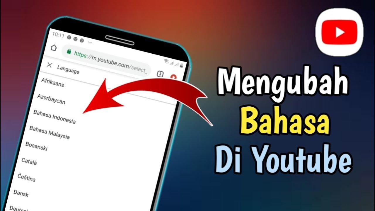 Cara Ganti Bahasa Di Youtube Youtube