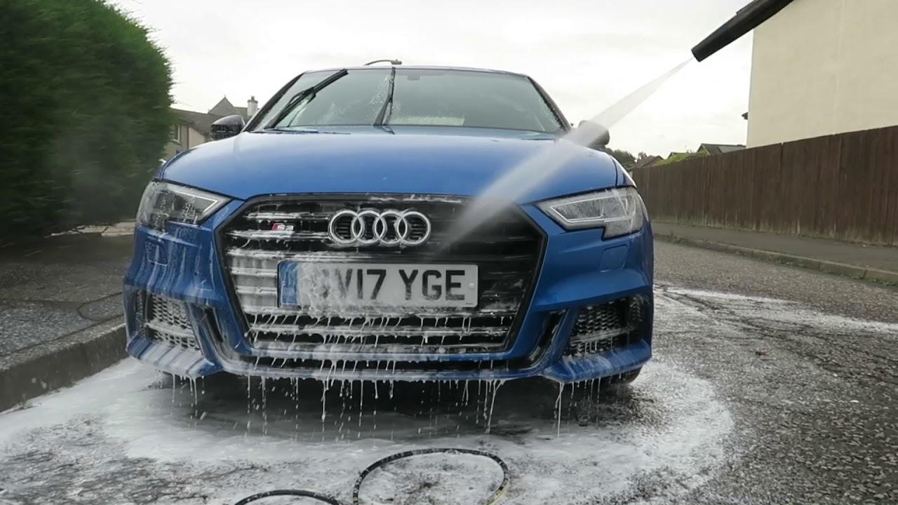 Drive Clean Eco Valet Audi S Snow Foam Stage YouTube - Audi car valet