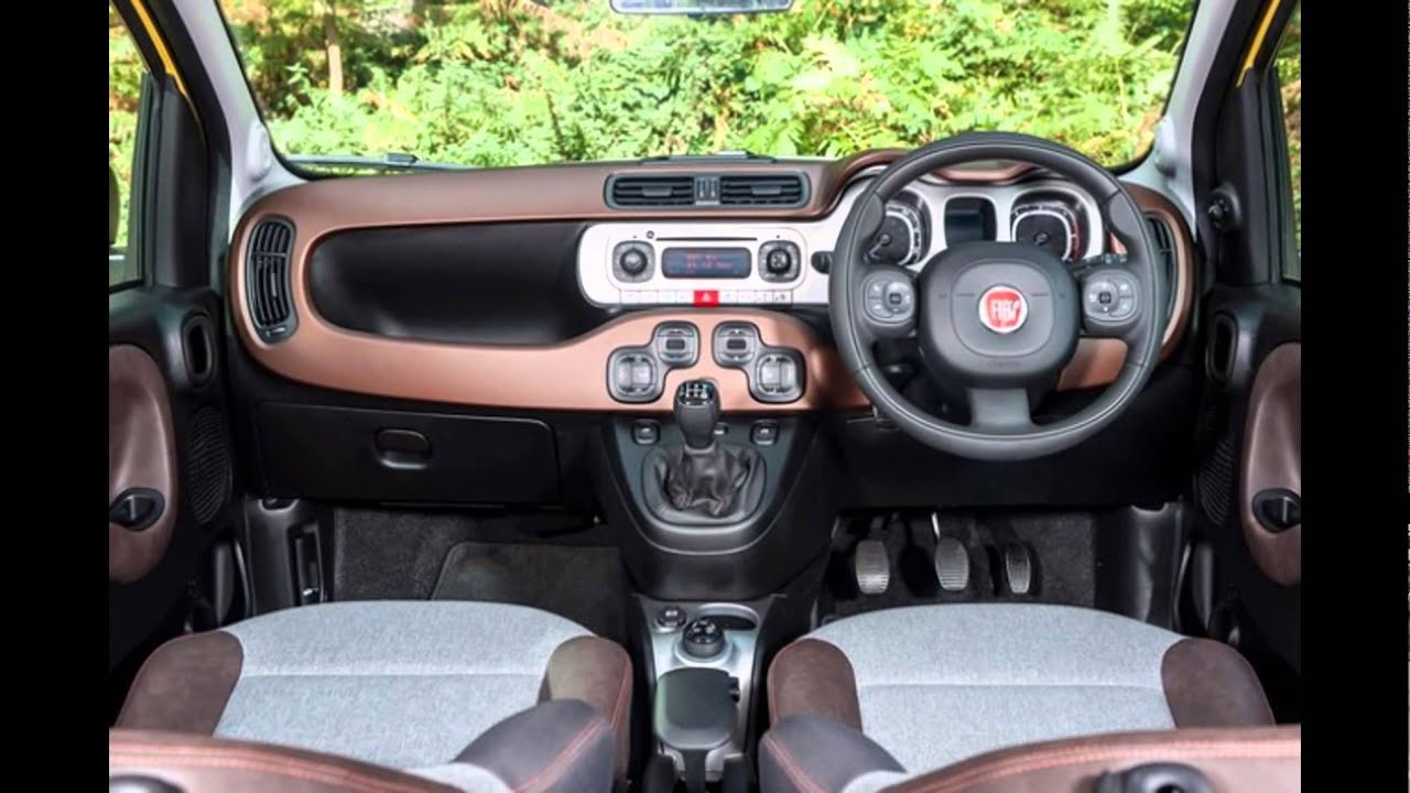 Interieur Fiat Panda 1 2016 Fiat Panda Cross Interior Youtube