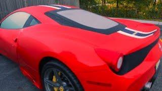 Para tener un Ferrari así, esto es lo que necesitas!!