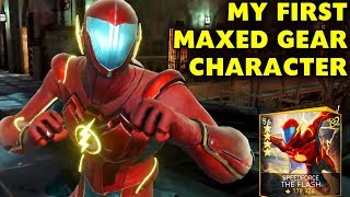 Injustice 2 Mobile. Level 60 Gear on Speedforce The Flash! Gameplay and Amazing Look Change!