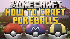 How to Craft Pokeballs in Pixelmon