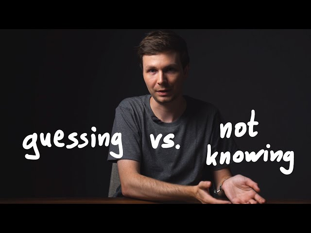 Guessing vs. Not Knowing in Hacking and CTFs