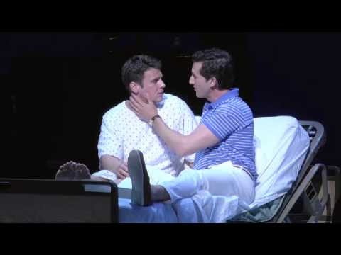Jonathan Groff And Aaron Lazar Scene A New Brain Youtube