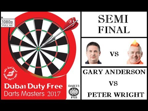 Part 2 - Dubai Duty Free Darts Masters 2017 HD - Semi Final [2of2]: Gary Anderson vs Peter Wright
