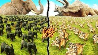 Nuevo vídeo de BEAST BATTLE SIMULATOR! Animales y dinosaurios armad...