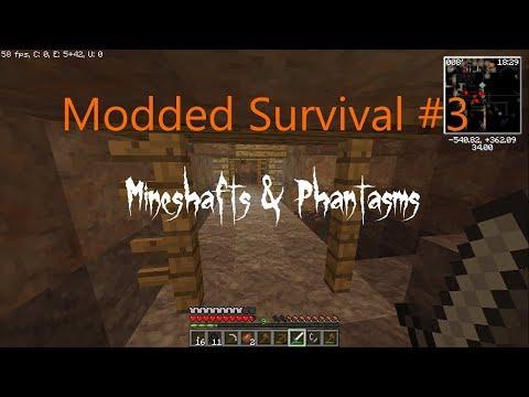 "TNTPack Modded Survival #3: ""MINESHAFTS & PHANTASMS!"""