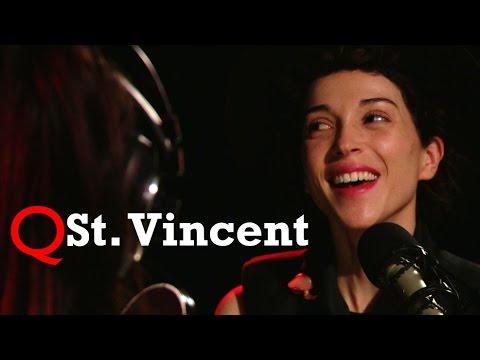 St. Vincent returns to Studio Q
