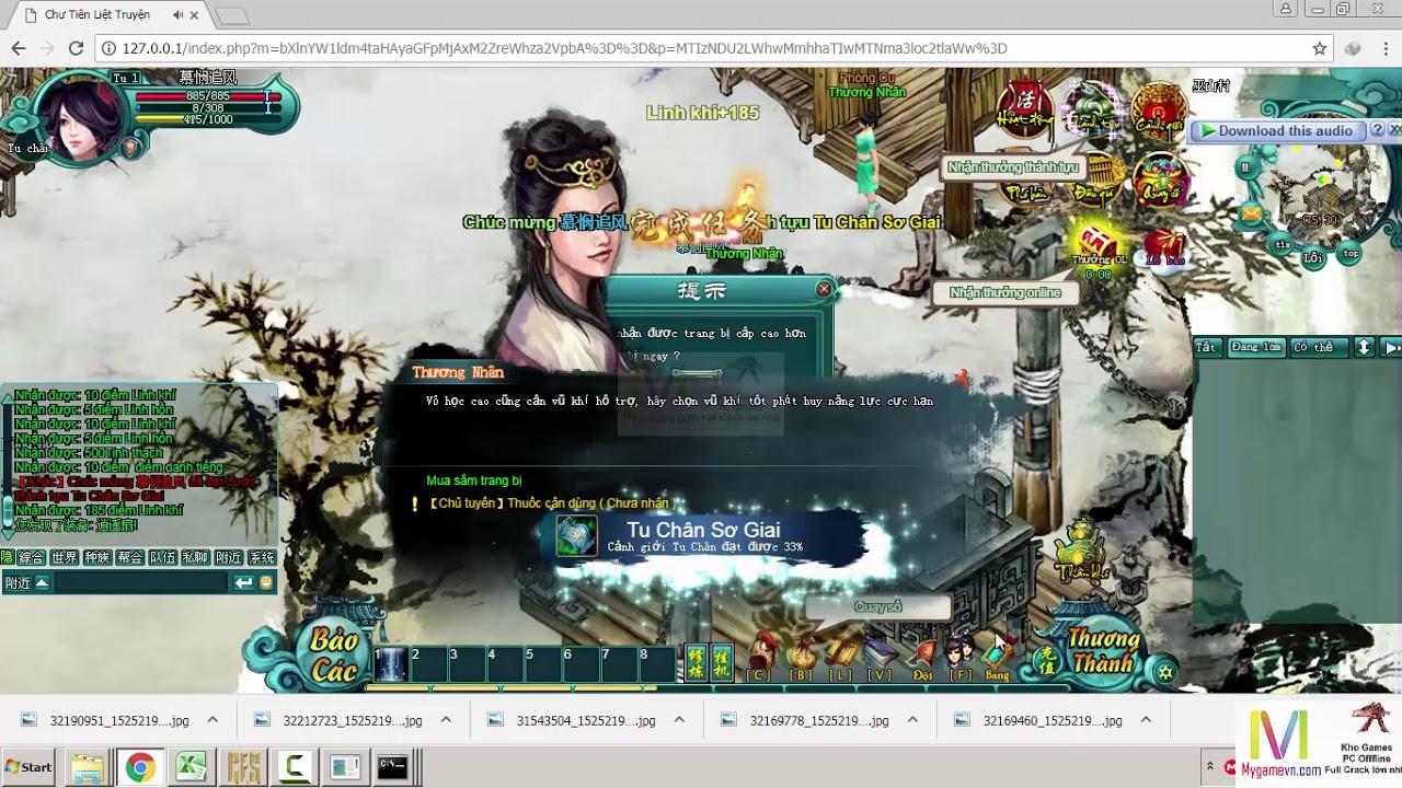 Chư Tiên Liệt Truyện Webgame Offline Việt Hóa