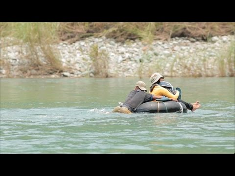 Teacher in Occidental Mindoro crosses five rivers to go to school | Front Row
