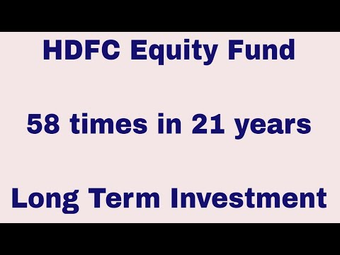 HDFC Equity Fund | Long Term Investment Use Case | Best Funds in India