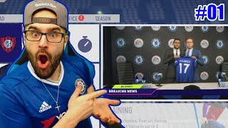 WOW MAHREZ TO CHELSEA FOR... FIFA 18 CHELSEA CAREER MODE #01