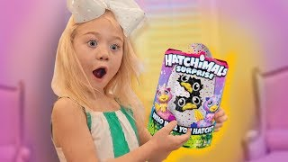 OPENING HATCHIMALS SURPRISE TWINS EGG!!!