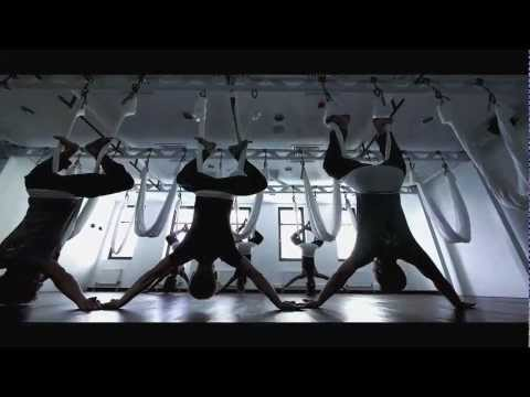 AntiGravity® Aerial Yoga - Hard Candy Fitness in Moscow Russia