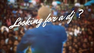 Looking for a DJ ?