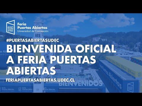 #PuertasAbiertasUdeC: Bienvenida oficial a Feria Puertas Abiertas #UdeC.