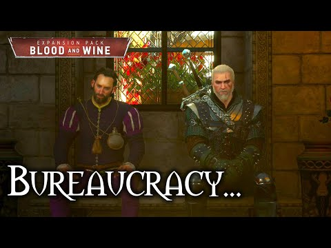 Witcher 3 - Blood and Wine - Paperwork