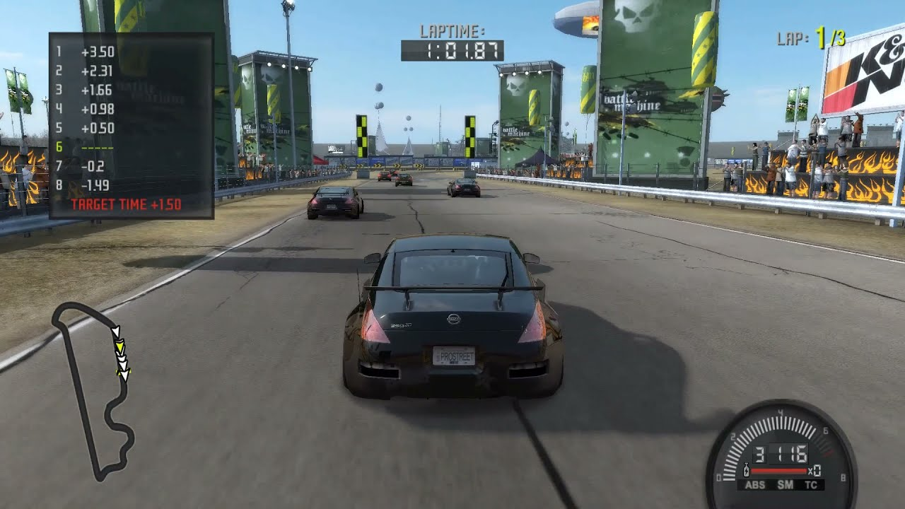 Download NEED FOR SPEED PROSTREET GRIP 350Z