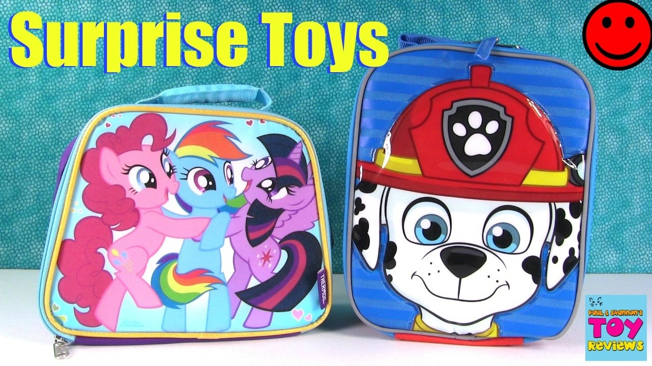 My Little Pony Paw Patrol Surprise Lunchbox Blind Bag Toy
