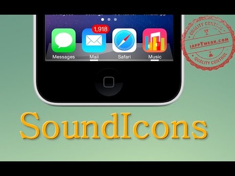 SoundIcons : Add Animated Equalizer To The Music App icons With SoundIcons - iOS 7
